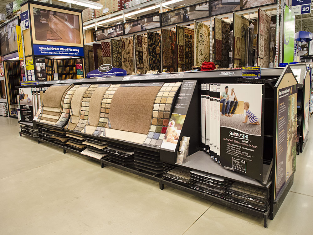 Flooring Display