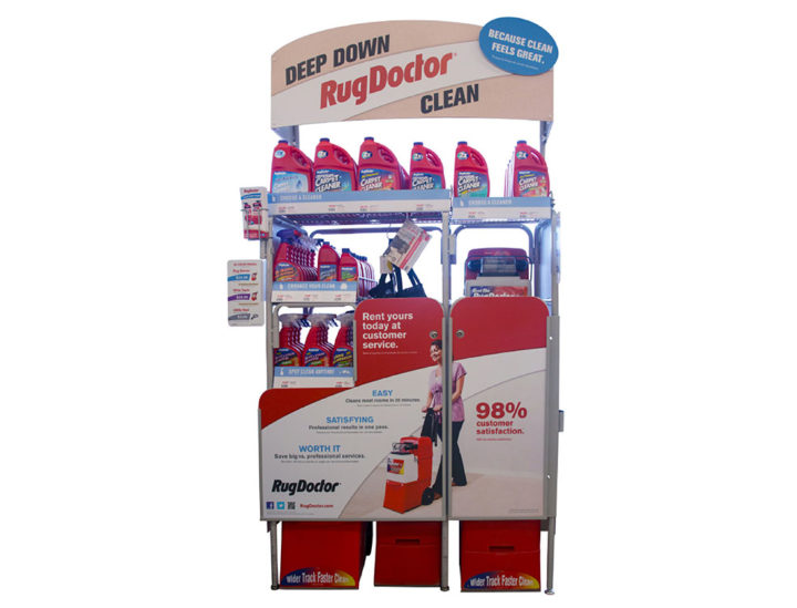 Rug Cleaner Display