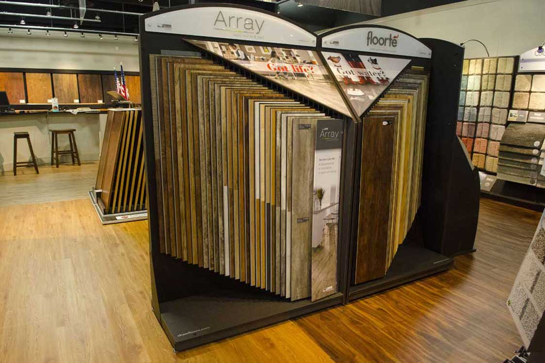 Modular Flooring Displays