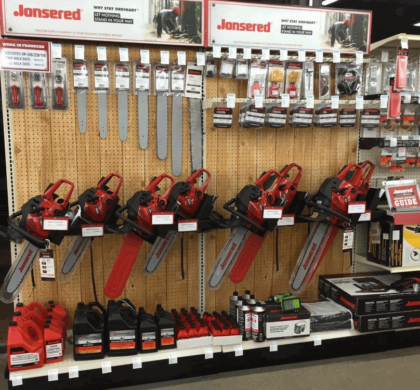 Chainsaw Display